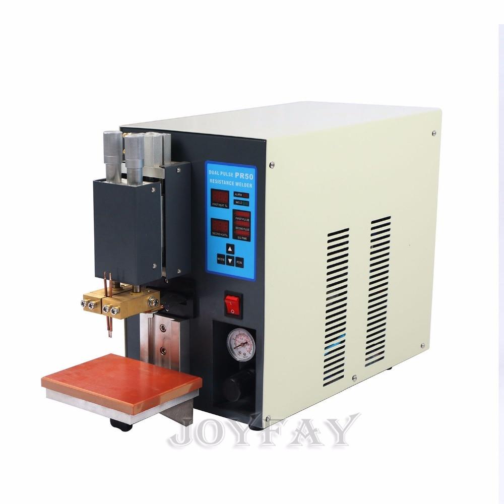Spot Welder Welding Machine for 18650 Battery Pack PR50 Microcomputer Dual pulse 30 KVA  цены