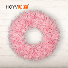 HOYVJOY Artifical Wreaths Christmas Decorations for Holiday Decor PVC Home Wall Door Party Supplies Wedding Decoration