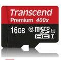 Настоящее Transcend 16 ГБ 32 ГБ 64 ГБ MicroSD MicroSDHC MicroSDXC Micro SD SDHC SDXC Карта 400X60 МБ/S class 10 UHS-1 TF Памяти карты