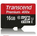 Real Transcend 16GB 32GB 64GB MicroSD MicroSDHC MicroSDXC Micro SD SDHC SDXC Card 400X 60MB/S class 10 UHS-1 TF Memory Card