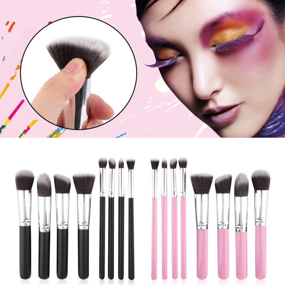 8Pcs makeup brushes Blush Eyeshadow Blending Set Concealer Cosmetic make up brushes Tool Eyeliner Lip Brushes pincel beauty easy