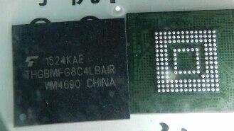 THGBMFG8C4LBAIR  emmc