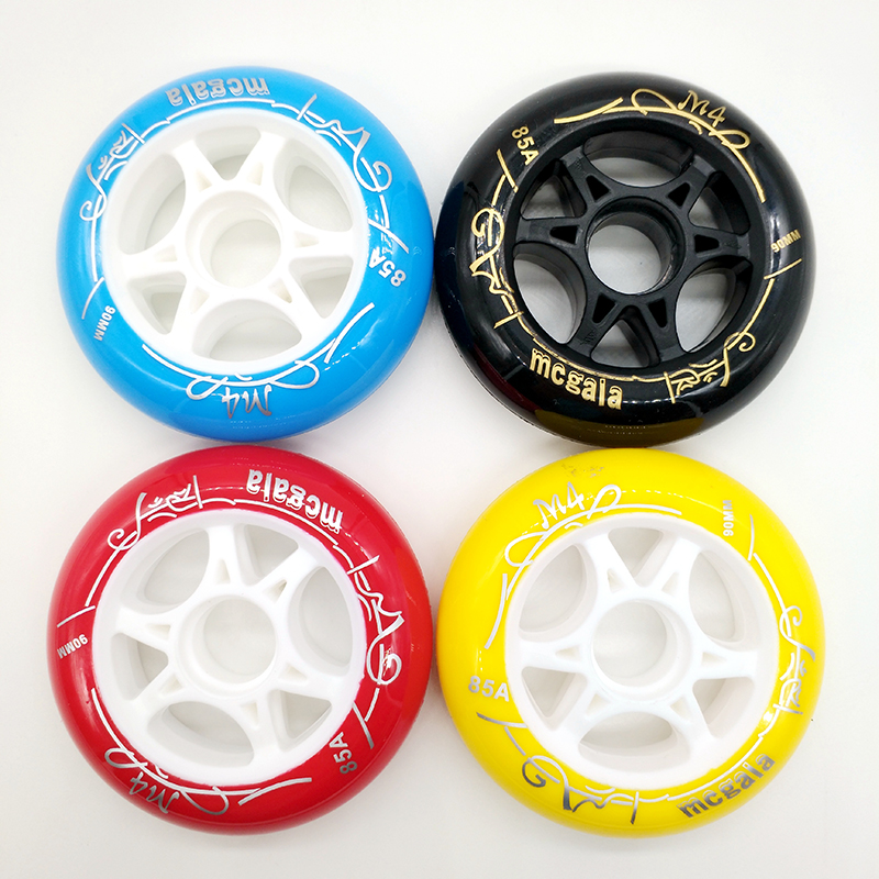 Free Shipping Speed Skates Wheels 90mm 100mm/110mm 85A High Respond High Duration