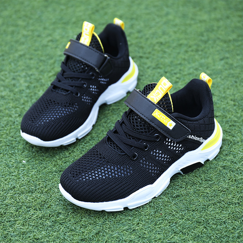 ULKNN Boys Shoes 2020 Spring Autumn New Big Children's Net Shoes Breathable Summer 3-12 Years Old Pupil Shoes Kids Sports Shoes