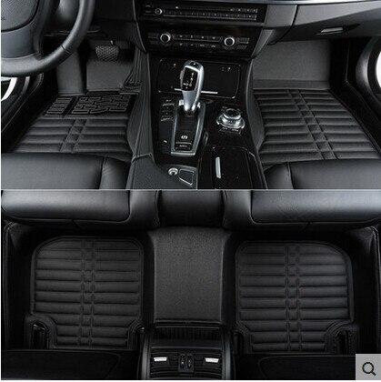 Migliore qualità! personalizzato tappetini speciali per BMW 740Li 750Li 760Li lungo G12 2017-2016 impermeabile antiscivolo tappeti, spedizione gratuita