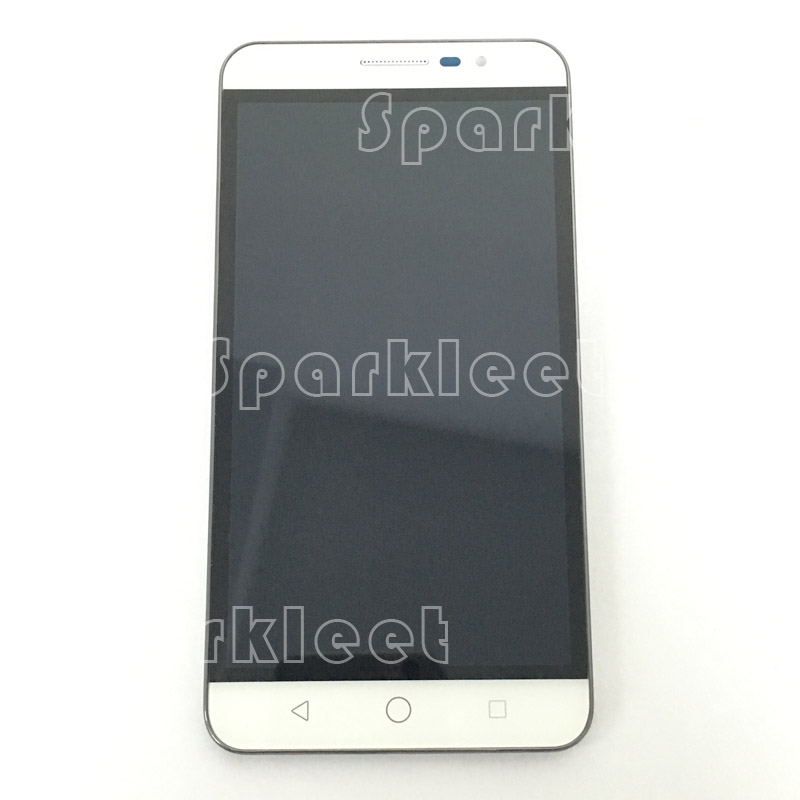 W/G/B 5.5 with Frame LCD Screen For Coolpad Modena E501 LCD Display Touch Screen Digitizer Assembly+Frame Replacement
