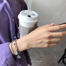 Stainless steel bracelet/couple/women/punk/bileklik/femmeStainless Steel Bracelet pulsera hombre for women mens bracelets 2019