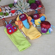 Baby Infant Toddler Comfortable Lovely Bee Toys Hosiery Socks Ladybird Wristband Outfit_Set