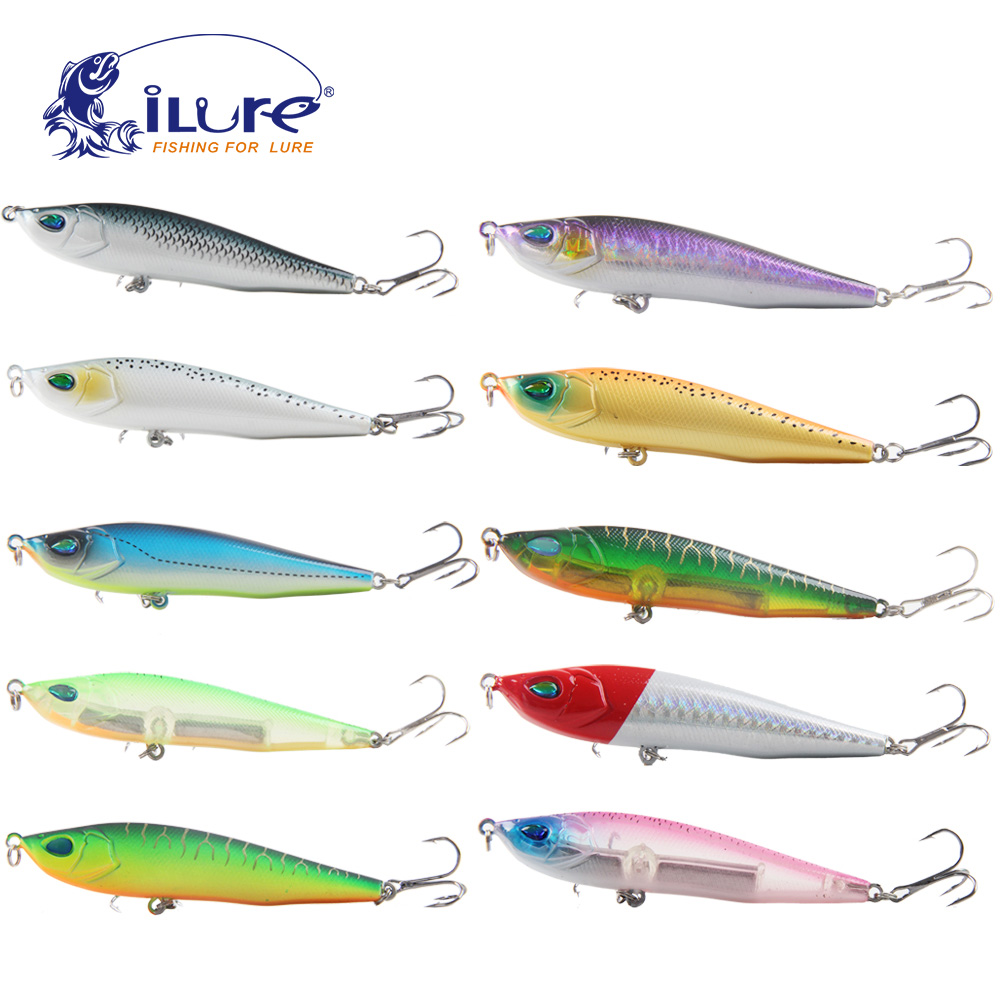 iLure 2017 New Fishing Bait 9cm 15g All Depth Fishing Lure Pencil Minnow Wobbler Lures Peche Hook fishing tackle Crankbait pesca ilure sea curls fishing bait minnow 9 3cm 9g pesca hard lure minnow artificial fishing carp lure bait ball wobbler hook jerkbait