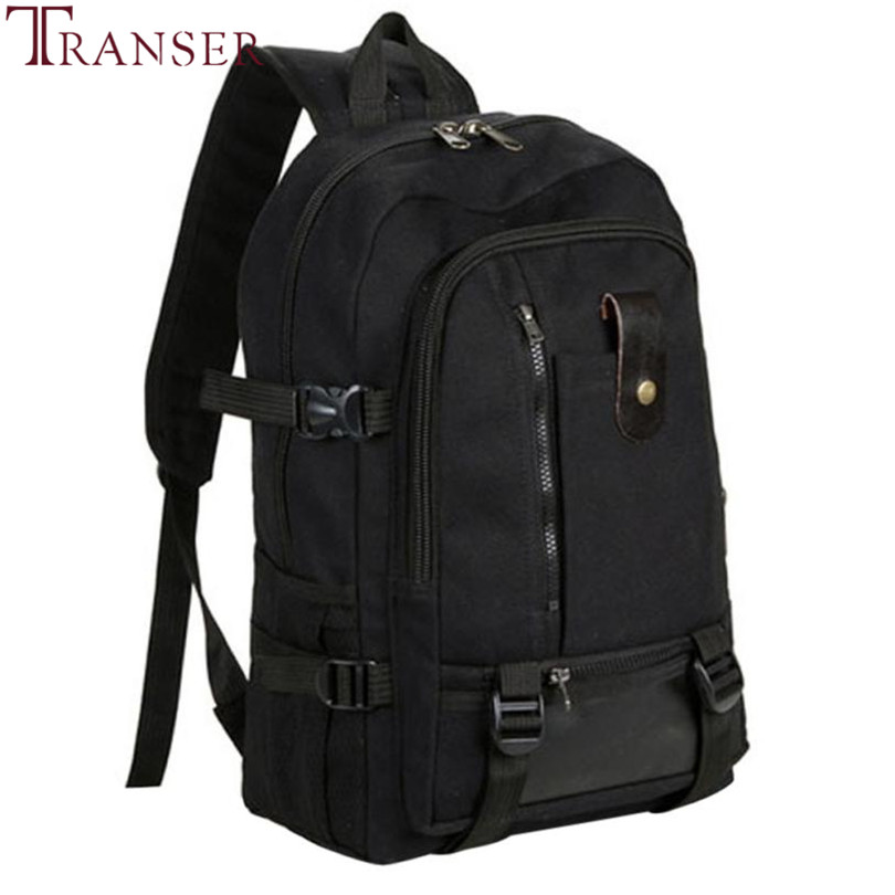 Transer Men Travel Backpack Medium Size Army Color Vintage Design Duffle Back Pack Casual Canvas Backpacks For Man Or Women A11