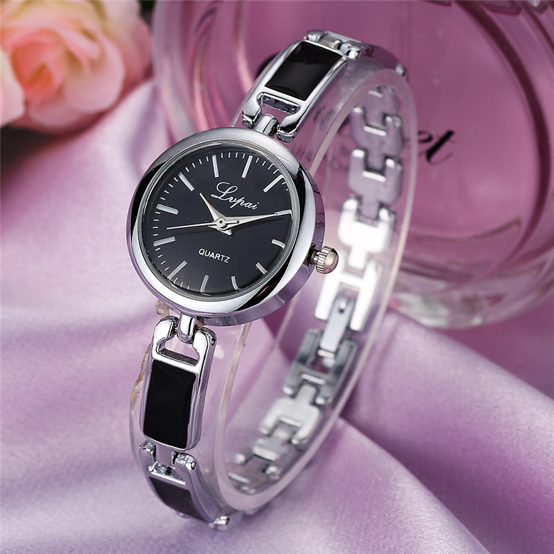 Luxury Women Stainless Steel Watch Analog Quartz Bracelet Watch Fashion Ladies Wrist Watch Casual Dress Clock Relogio Feminino wavy style fashion stainless steel quartz analog bracelet wrist watch for women golden 1 x 377