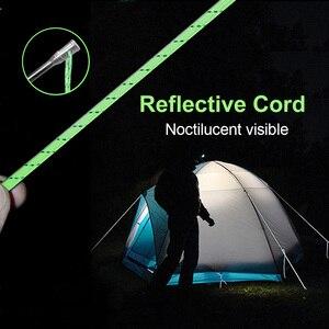 Image 5 - GeerTop 헤비 듀티 티타늄 텐트 페그 스테이크 하드 그라운드 안정적인 교체 네일 캠핑 텐트 기어 배낭 하이킹 야외