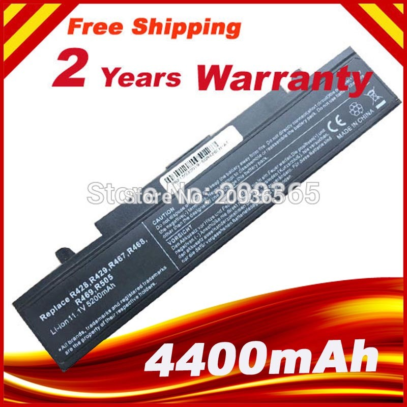 [Xüsusi qiymət] SAMSUNG R540 NP-R540 NT-R540 RC408 RC410 RC510 RC512 RC518 RC520 RC530 RC710 RC720 RF410 RF510 üçün noutbuk batareyası