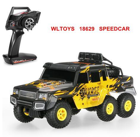 6WD vs remote CrawlerRC