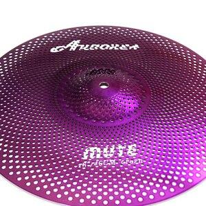 Image 2 - Cymbale muette couleur pourpre Arborea 16 Crash
