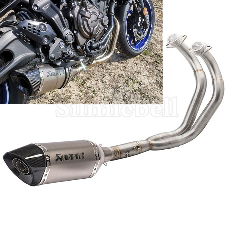 Motorcycle-Escape Fz-07-Tracer XSR700 Exhaust MT07 Yamaha Akrapovic Full-System for FZ07