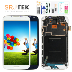 5.0'' LCD for SAMSUNG Galaxy S4 LCD Display with Frame GT-i9505 i9500 i9505 i9506 i9515 i337 Touch Screen Digitizer