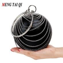 Diamant Abendtaschen Rund Frauen Handtaschen Und Geldbörsen Mit Ketten Frauen Messenger Bags Umhängetaschen Damen 3
