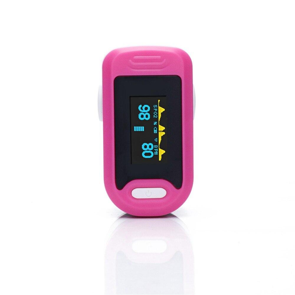 Loodom Vinger Pulsoxymeter Zuurstof Monitor Oled Pulsoximeter Vingertop Saturatiemeter De Dedo De Pulso Vinger Oximeter Пульсоксимет - 4