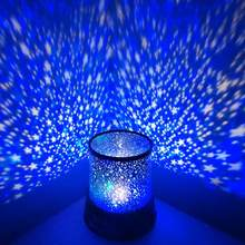 LED Lamp Plastic Starry Sky Star Night Light LED Projection Decoration Lamp for Bedroom Christmas Gift(China)