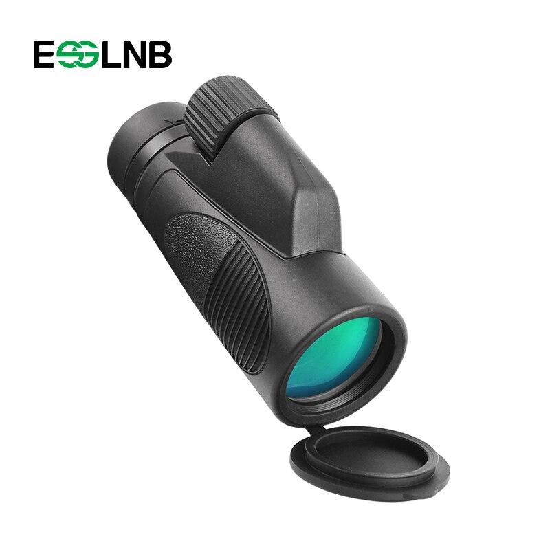 Haute Qualité HD Monoculaire Télescope Non-slip Poche Mini Monoculaire Zoom Optique Lentille Spotting Scope Pour Camping Chasse