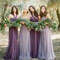Vivians' Bridal Cheap Bridesmaid Dresses DIY Purple Bridesmaid Gowns Under 50 For Wedding Party #BM110
