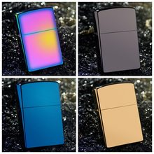 Windproof Cigarette Lighter Smoking Fuel Lighters Flintstone Kerosene Lighter Gift To Smoke for Pipe Without Fuel(China)