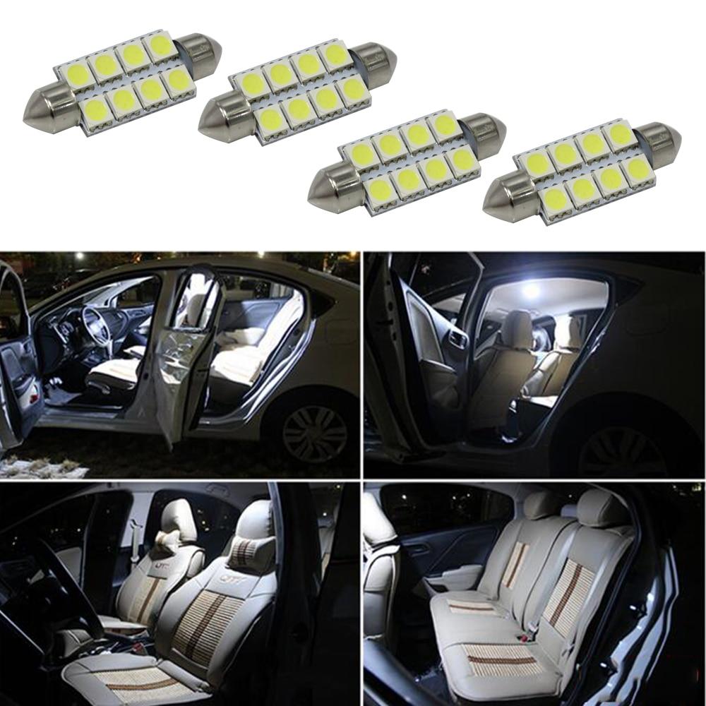 6SMD 5050 C10W SV8.5 Λυχνίες LED Ψυχρού Λευκού - Φώτα αυτοκινήτων - Φωτογραφία 5