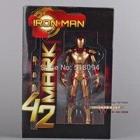 Marvel The Avengers Stark Iron Man 3 Mark VII MK 42 PVC Action Figure Collection Model