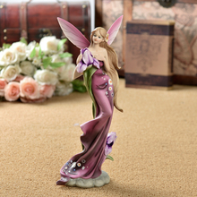1pcs Europe Resin Angel Creative Fashionable figurines tabletop crafts  home decoration accessories Wedding Gifts