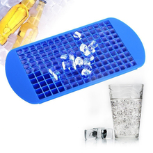1Pc Ice Cube Maker 160 Grid Food Grade Silicone Tray Fruit DIY Creative Small Mold Square Shape Kitchen Accessories