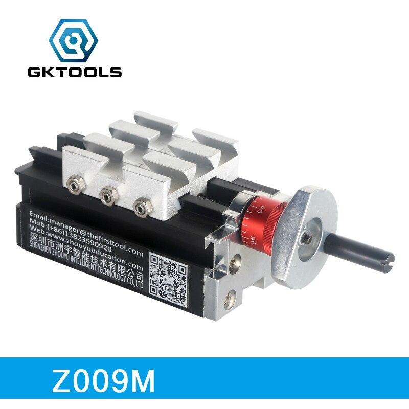 GKTOOLS, 100*50*50mm Longitudinal Slide, Max Travel Is 50mm, Z009M