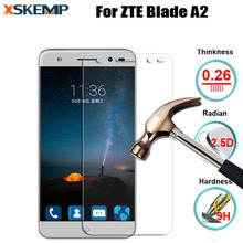 2.5D 0.26mm Premium No Fingerprint Real Tempered Glass Screen Protector For ZTE Blade A2 Toughened Protective Film Guard Shiled