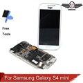 100% testado para samsung galaxy s4 mini i9190 i9195 i9192 lcd digitador assembléia quadro frete grátis