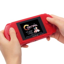 Classic 3 Inch 16 Bit PXP3 Slim Station Video Games Player Handheld Game +Free Game Card Console Built-in 150 Games