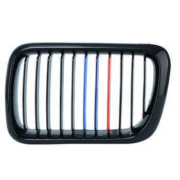 Car-styling Car Front Grille Reflective Strip 3 Color Stickers For BMW E46 E39 E90 E60 E36 F30 F10 E34 X5 E53 X6 E92 grille