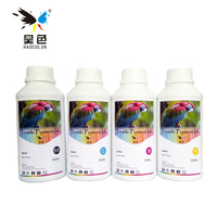 4*500ML vivid Color Digital Textile pigment Ink direct to garment ink For Epson Printer Dtg Ink pure cotton materials