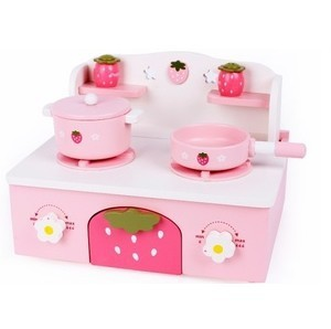 Baby Toys Wooden Mini Kitchen Ware Small Gas Cooktop Child Pretend Play Toys Classic Toys gift free shipping baby toys picnic basket food set wooden play food set pretend play kitchen toys gift