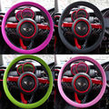 New Universal Car Skidproof Soft Silicone Steering Wheel Cover Shell Skidproof Odorless Eco Friendly