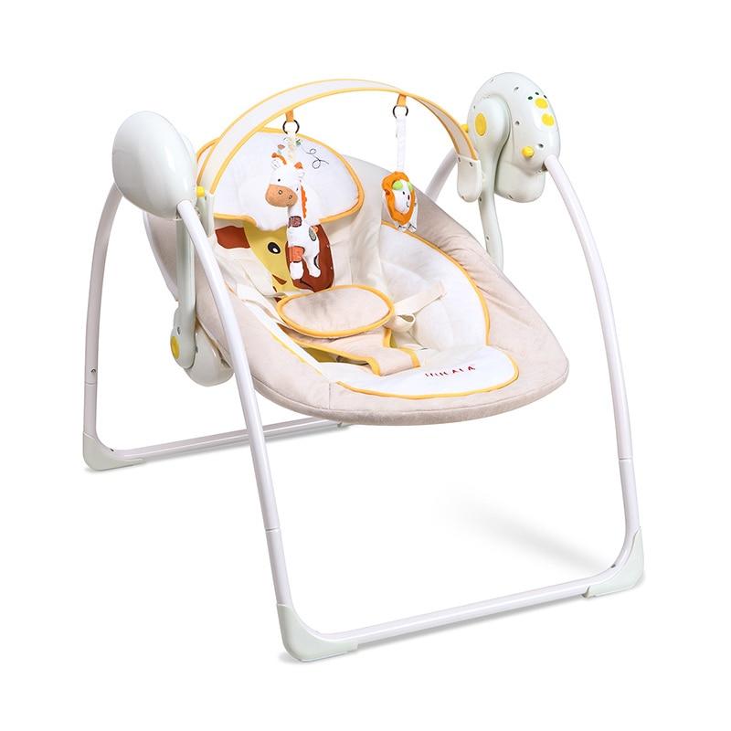 Bébé chaise berçante berceau électrique enfants sleepy bébé artefact berceau lit bébé confort inclinable