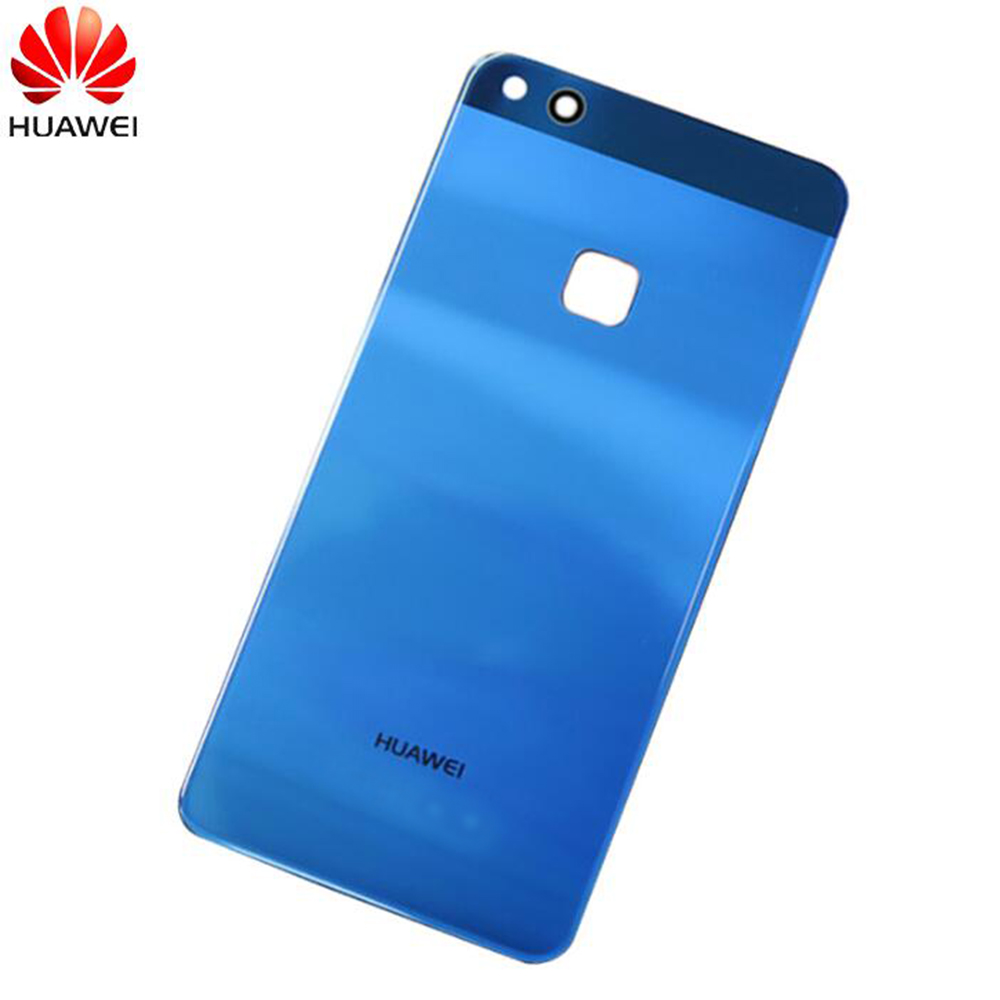 Original Glass Rear Housing Cover For HUAWEI P10 Lite/Nova Lite,Back Door Replacement Battery Case,Adhesive Sticker, 5 Colors(China)