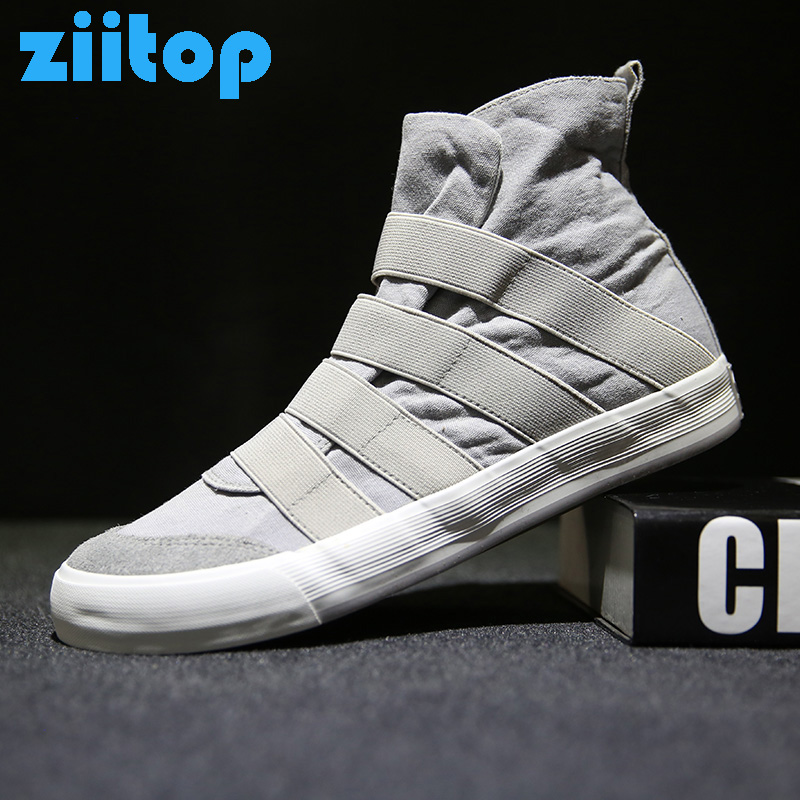 Ziitop Autumn Men's Skateboard Shoes Band Sneakers Men Sport Shoes Scarpe uomo sportive Canvas Shoes Outdoor Walking Shoes женские кеды golden goose shoes 2015 ggdb uomo scarpe scollate
