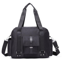 Casual Fashion Laptop Bag New Hangbag Men Travel Bag Women Shoulder Bag Wear Resisting Oxford Computer