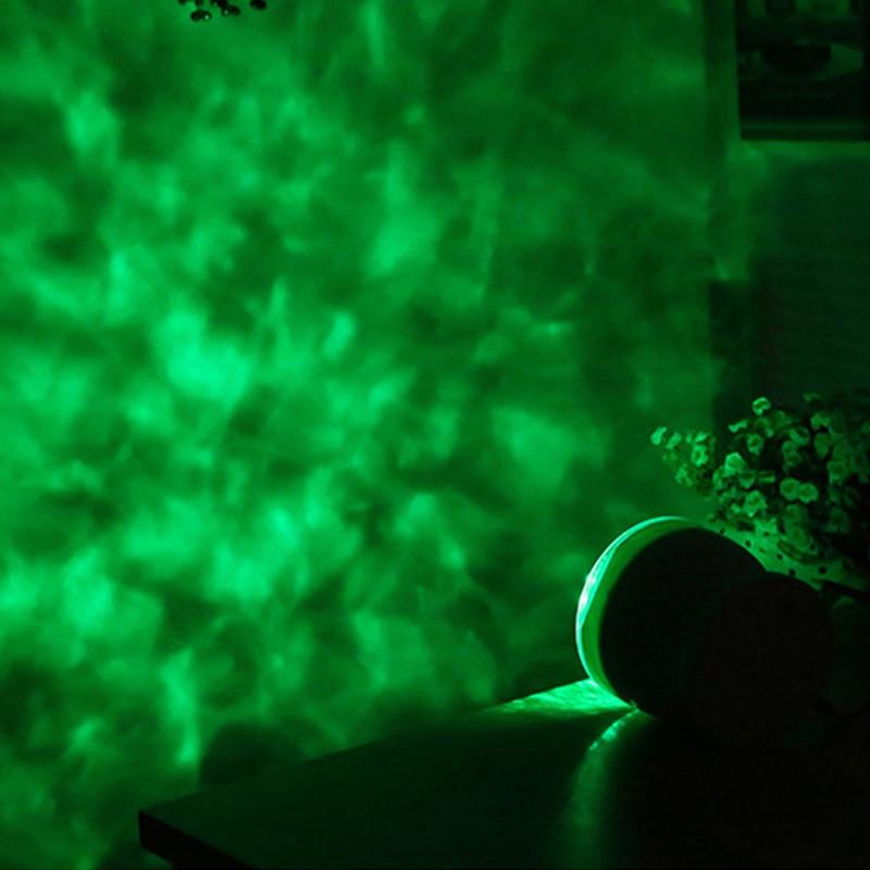 Romántico Proyector Ocean Wave Cielo estrellado LED Altavoz nocturno - Luces nocturnas - foto 5