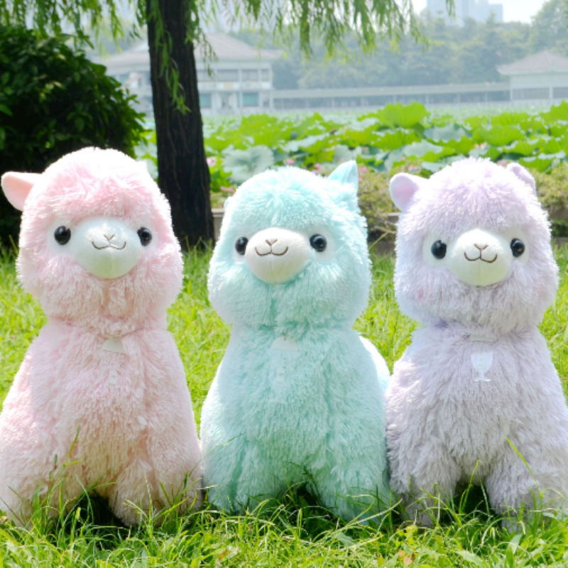 2017 new arrival 35 45cm Japanese Alpacasso Soft Toys Doll Stuffed Animals Toy  Kawaii Alpaca Plush Kids Christmas Gift T1 stuffed animal 120 cm cute love rabbit plush toy pink or purple floral love rabbit soft doll gift w2226