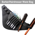 Barber Salon Scissors Case PU Leather Wasit Bag Professional Hairdressing Clips Shears Holster Styling Tools Pouch with Belt