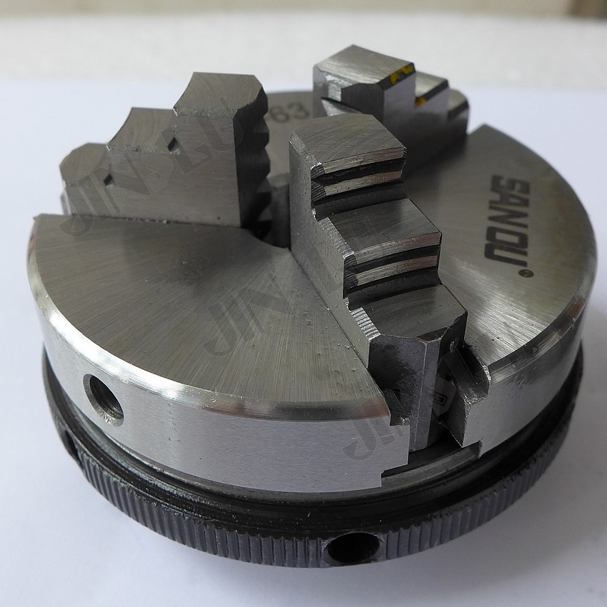 Free Shipping SANOU Brand Lathe Chuck K01-63 Mini 3 Jaws Chuck For CNC Machines Tool