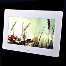 10.1 pulgadas marco de fotos Digital HD TFT-LCD vista completa porta retrato despertador electrónico presentación calendario MP3 MP4 reproductor de películas
