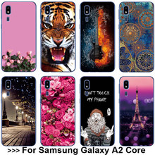 "Case For Samsung A2 Core Case For Samsung Galaxy A2 Core SM-A260F A260 5.0"" Soft Silicone TPU Back Cover For Samsung A2Core Case(China)"