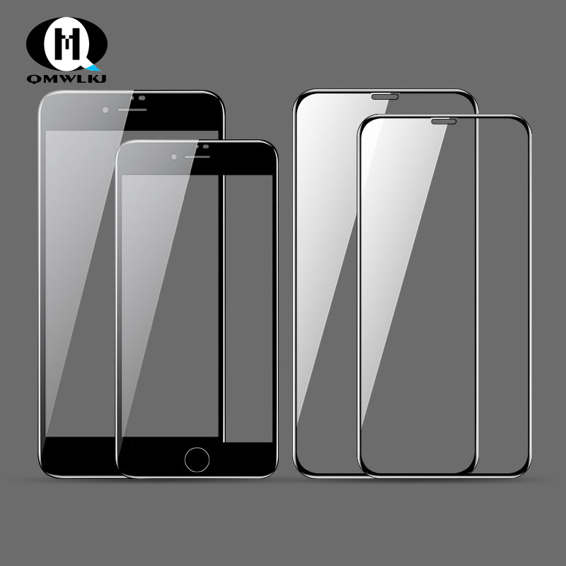Tempered glass film For iPhone 6 6S 7 8 Plus Mobile Phone Film Screen Protectors X XR XS MAX